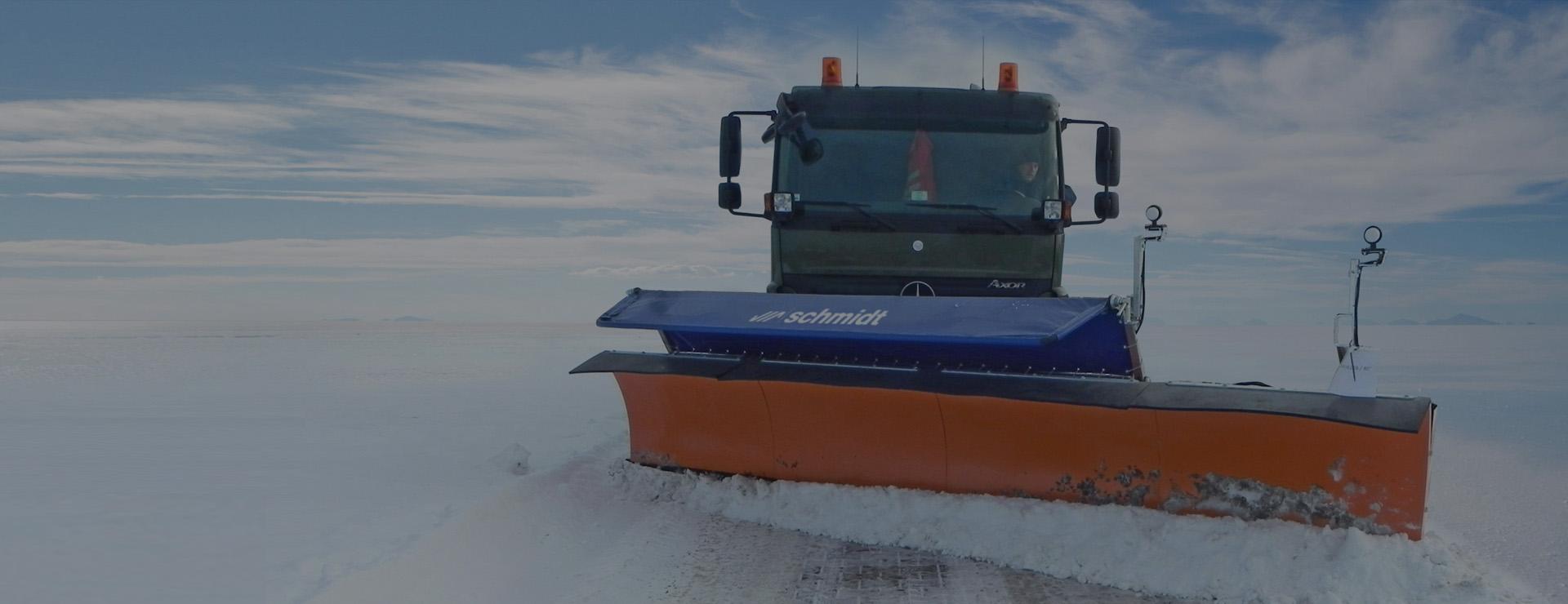 Аэродромные технологии снегоочистки SCHMIDT