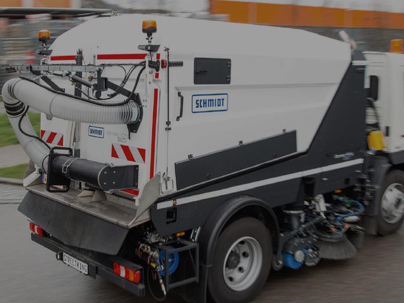 Вакуумная подметально-уборочная машина SCHMIDT SK-660 STREETKING
