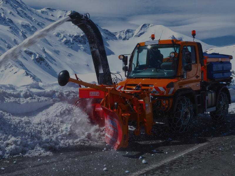 Роторный снегоочиститель SCHMIDT SUPRA